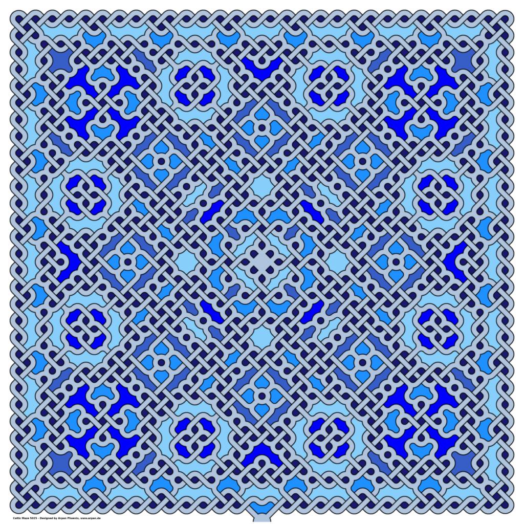 Celtich Maze 5025