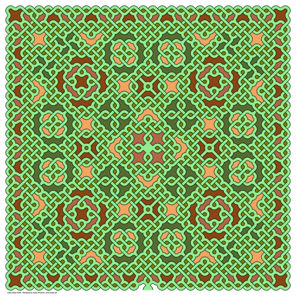 Celtic Maze 5028