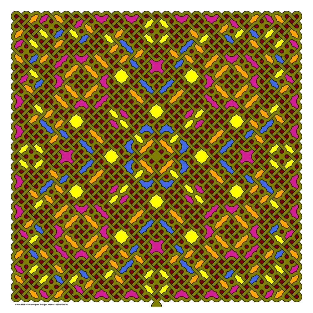 Celtic Maze 5030
