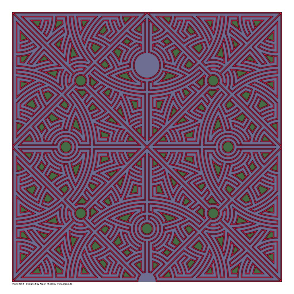 Maze 2863